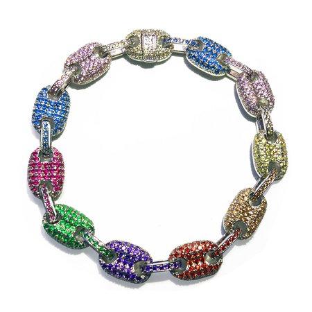 Gucci link mariner link bracelet 9mm Multi-colored – Bijouterie Gonin