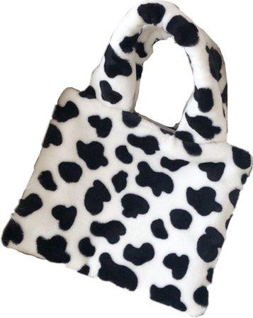 cow print mini mini  tote