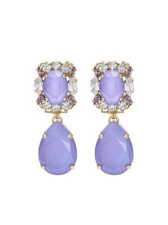 Anton Heunis Michelle crystal-embellished Drop Earrings - Farfetch