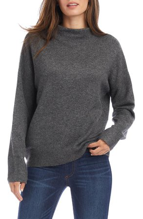 Karen Kane Funnel Neck Sweater | Nordstrom