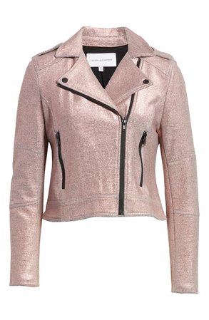 cupcakes and cashmere Knit Moto Jacket | Nordstrom