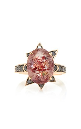 M.Spalten 18K Rose Gold And Multi-Stone Ring