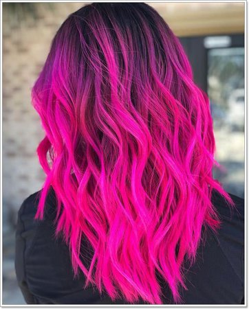 hot pink hair - Google Search