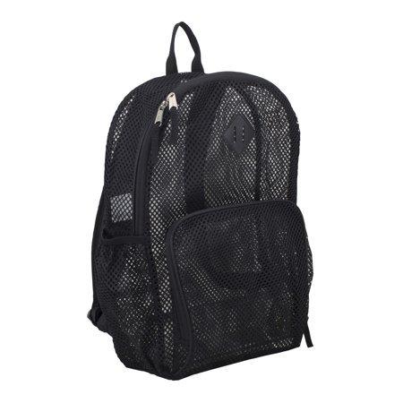 Eastsport - Eastsport Multi-Purpose Mesh Backpack with Front Pocket, Adjustable Straps and Lash Tab - Walmart.com