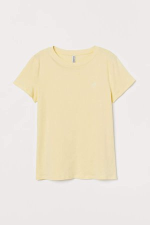 Jersey T-shirt - Yellow