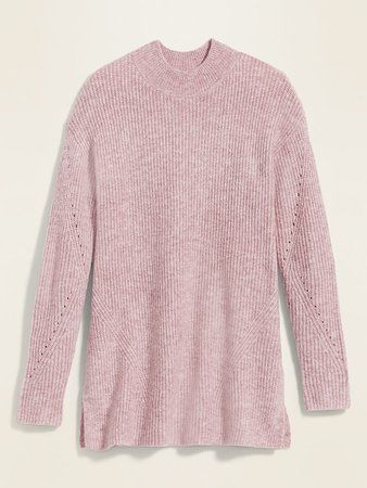 Cozy Textured Tunic Sweater for Women | Old Navy