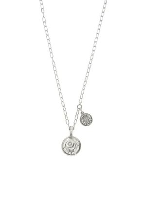 Ettika Double Coin Pendant Necklace | Nordstrom