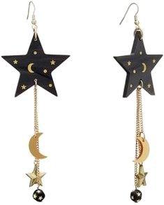 Pinterest | star earrings
