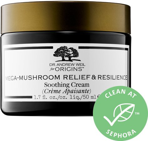 Dr. Andrew Weil for Mega-Mushroom Relief & Resilience Soothing Cream