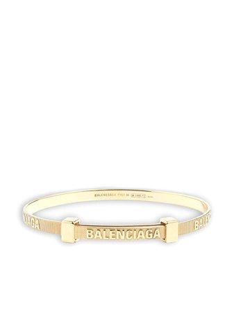 Balenciaga force striped bracelet - FARFETCH