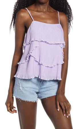 Endless Rose Tiered Ruffle Camisole | Nordstrom