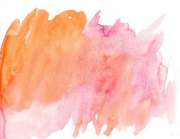 peach smear watercolor - Google Search