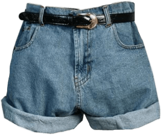 aesthetic momjeans shorts