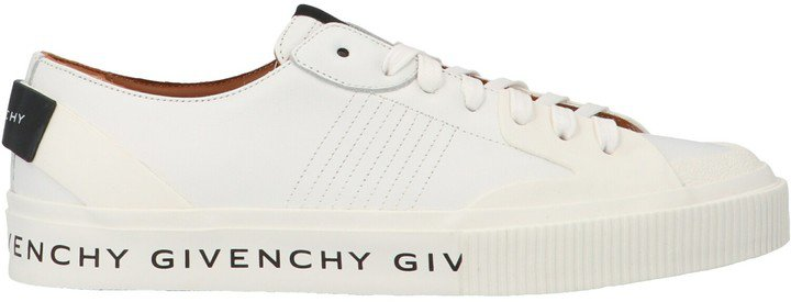 Logo Print Lace Up Sneakers