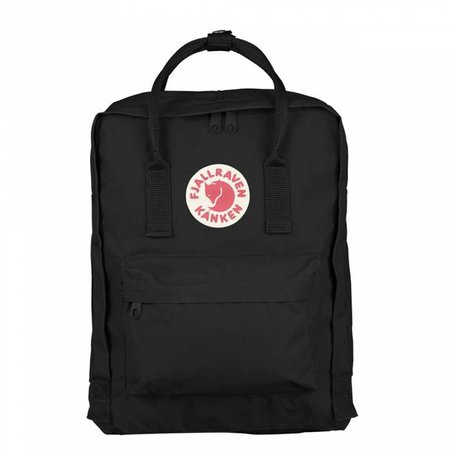 FJALLRAVEN Kånken Backpack - Black