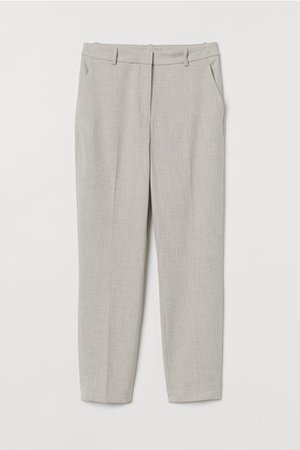 Slacks - Light beige melange - Ladies | H&M US
