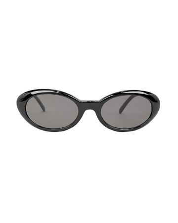 Seattle Black Sunglasses | INTERMIX®