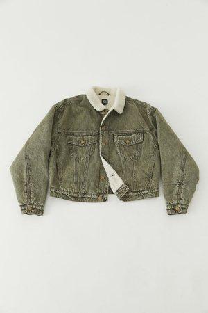 BDG River Fleece-Lined Denim Jacket | Urban Outfitters