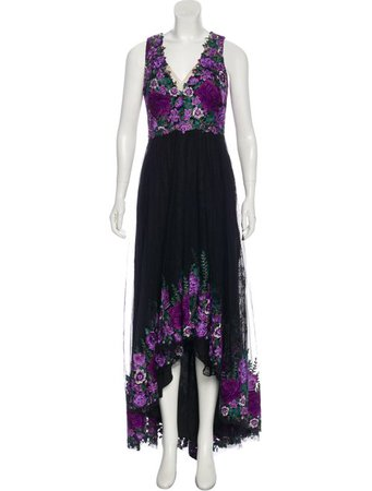 Marchesa Notte Sleeveless Evening Dress - Clothing - WMH22068 | The RealReal