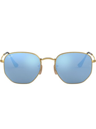 Ray-Ban hexagonal-frame Sunglasses - Farfetch