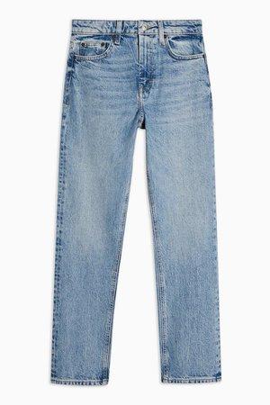 Bleach Straight Jeans | Topshop