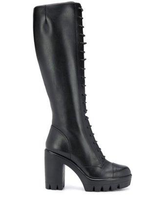 Giuseppe Zanotti lace-up high-heel Boots - Farfetch