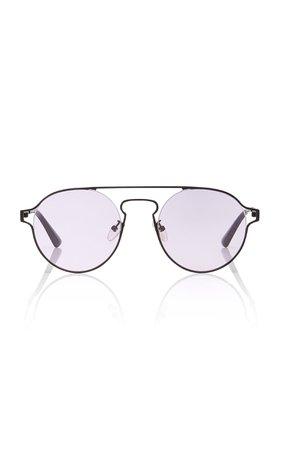 MCQ Sunglasses Round-Frame Metal Sunglasses