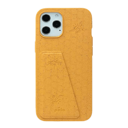 Honey (Bee Edition) Eco-Friendly iPhone 12 Pro Max Wallet Case