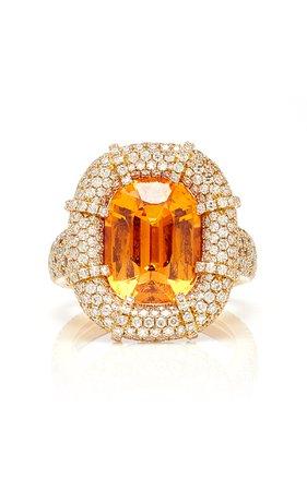 Martin Katz Mandarin Garnet Ring