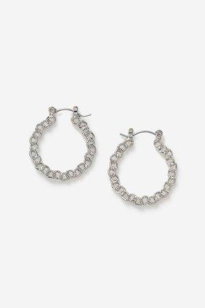 **Chain Hoop Earrings | Topshop