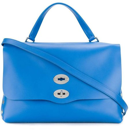 double-lock studded bag
