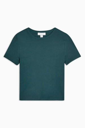 Forest Green Everyday T-Shirt | Topshop