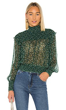 Top Blouse - Open Front, Tie Up & Bow Front Blouses - REVOLVE