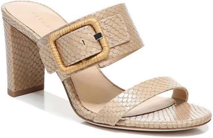 Galoma Snake Embossed Sandal