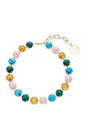 Multi Strauss Crystal Necklace By Carolina Herrera | Moda Operandi