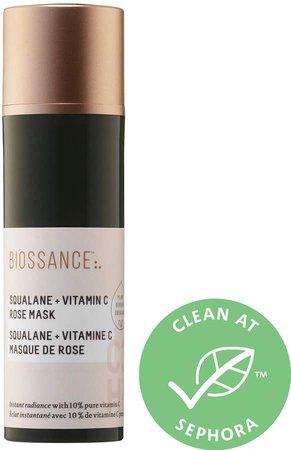Biossance - Squalane + Vitamin C Rose Mask
