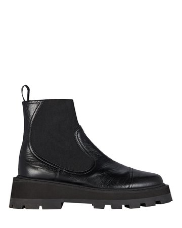 Jimmy Choo Clayton Leather Ankle Boots | INTERMIX®