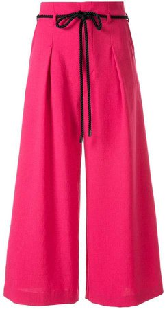 Loveless high-waisted trousers