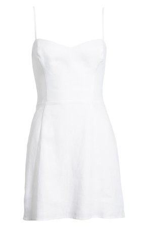 Roarke Linen Minidress | Nordstrom