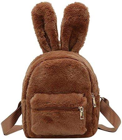 Mini Brown Backpack