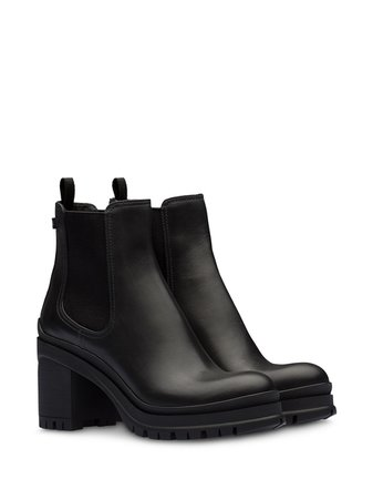 Prada chunky heel ankle boots - FARFETCH