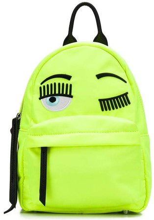 Flirting embroidery backpack