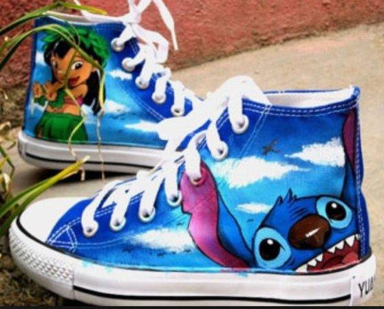 Lilo and Stitch Converse