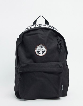 Napapijri Happy Day backpack in black | ASOS