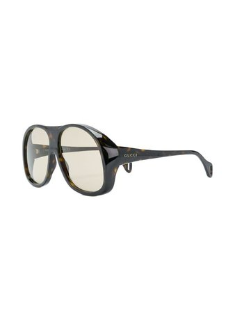 Gucci Eyewear Oversized aviator-sized Glasses - Farfetch