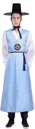 Blue Hanbok 2