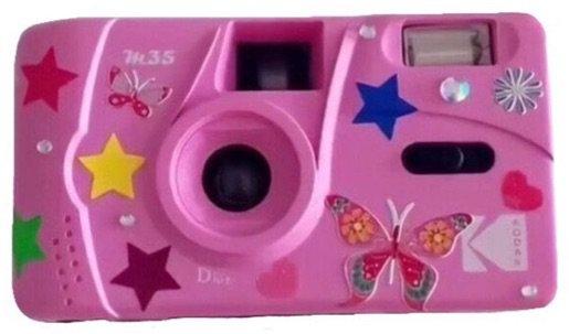 pink toy camera