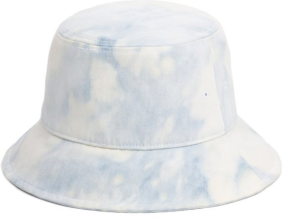 Ellis Acid Wash Denim Bucket Hat