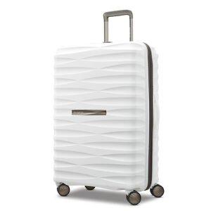 white suit case