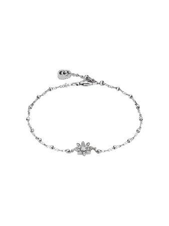 Gucci Bracelet With Flower And Diamonds - Farfetch